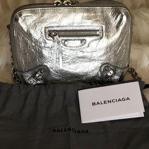 BALENCIAGA leather bag authentic 100% Paris